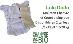 change b b lavable lulu dodo 4 12 kg chanvre coton bio couche de nuit comptoir du chanvre. Black Bedroom Furniture Sets. Home Design Ideas